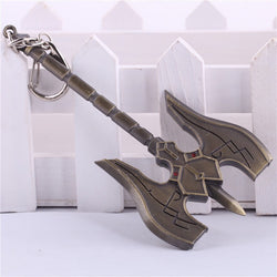KeyChain - League Of Legends Sion Axe Key Chain