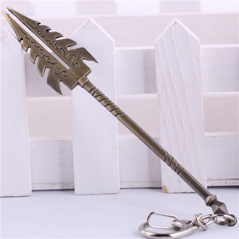 KeyChain - League Of Legends Xin Zhao Spear Key Chain