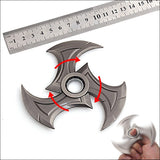 KeyChain - League Of Legends Zed Shuriken Weapon