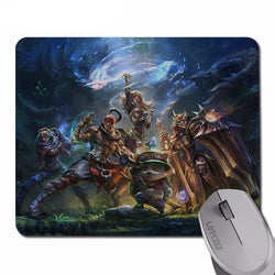 Mouse Pad - League Of Legend Team Builder Mouse Pad