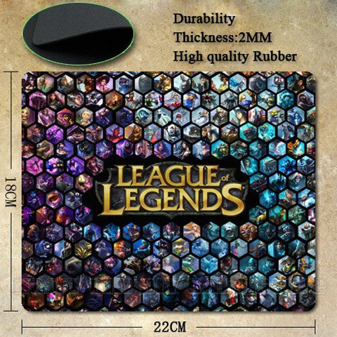Mouse Pad - League Of Legends Champ Select Mouse Pad