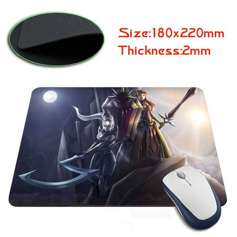 Mouse Pad - League Of Legends Diana/Leona's Mouse Pads