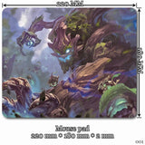 Mouse Pad - League Of Legends Maokai Mouse Pads