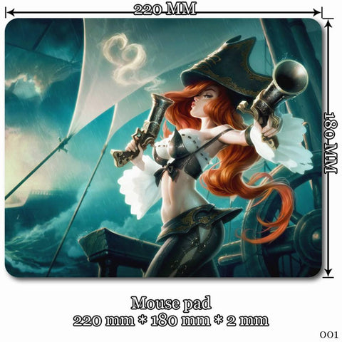 Mouse Pad - League Of Legends Miss Fortune Mouse Pads