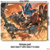 Mouse Pad - League Of Legends Rumble Mouse Pads