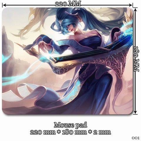 Mouse Pad - League Of Legends Sona Mouse Pads