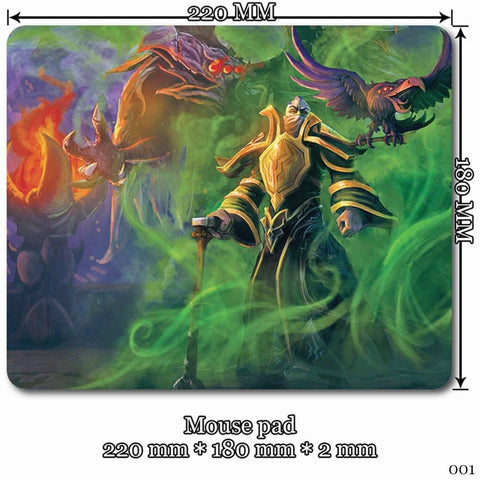 Mouse Pad - League Of Legends Swain Mouse Pads