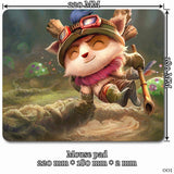Mouse Pad - League Of Legends Teemo Mouse Pads