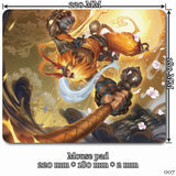 Mouse Pad - League Of Legends Wukong Mouse Pads