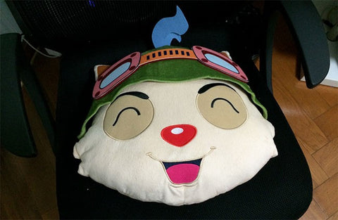 League of Legends Teemo Pillow - League Of Legends One Stop Shop
