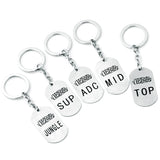 League of Legend Position Keychain