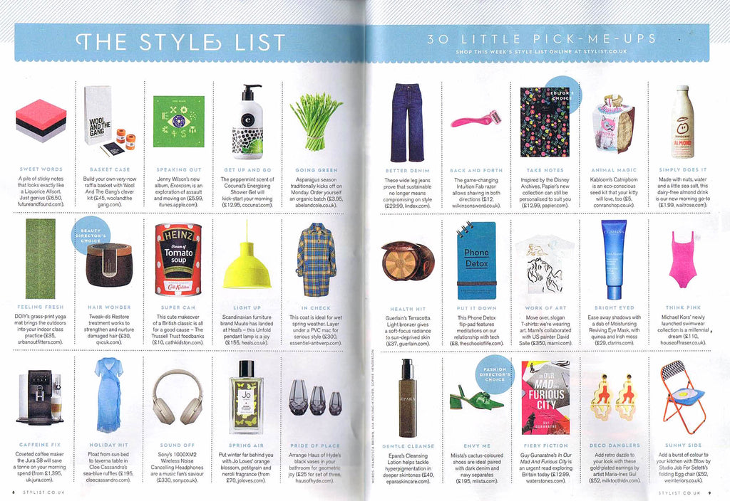 Miista Oriana Evergreen In Stylist Magazine