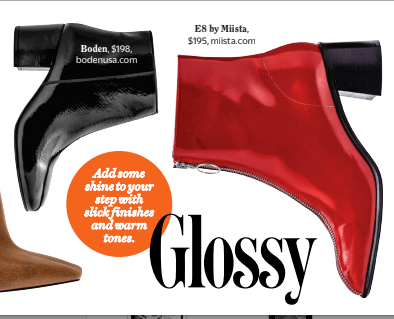 Saga Red Florentique featured in Cosmopolitan