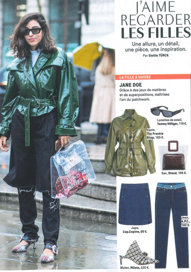 Miista Paulette featured in Grazia