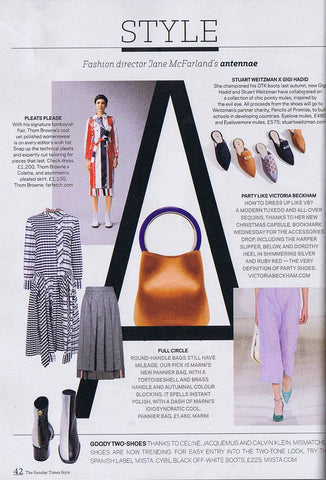 Cybil White Fiume featured in Sunday Times Style Section