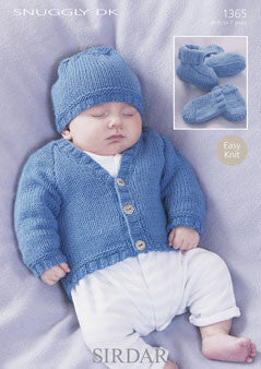 Snuggly DK F075-1365 Digital Download Pattern