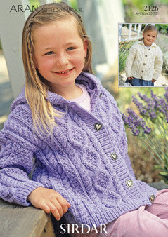 Hayfield Bonus Aran F119-2126 Digital Download Pattern