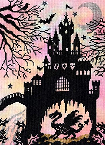 Dragon Castle Enchanted Series Cross Stitch Kit