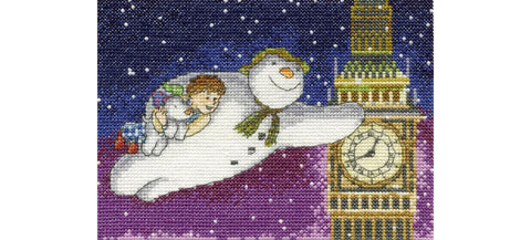 Flying Past Big Ben 14 Count Cross Stitch Kit