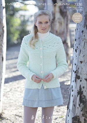 Hayfield Bonus Aran F119-7376 Digital Download Pattern