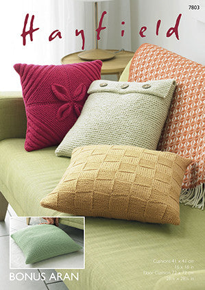 Hayfield Bonus - Cushion Pattern