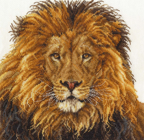 Lion's Pride Cross Stitch Kit