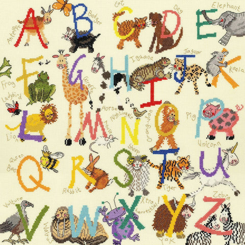 Bothy Animal Alphabet kit