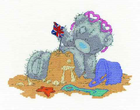 Me to You Tatty Teddy On Holiday Cross Stitch Kit