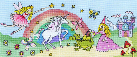 Fairy Tale Fun Cross Stitch Kit