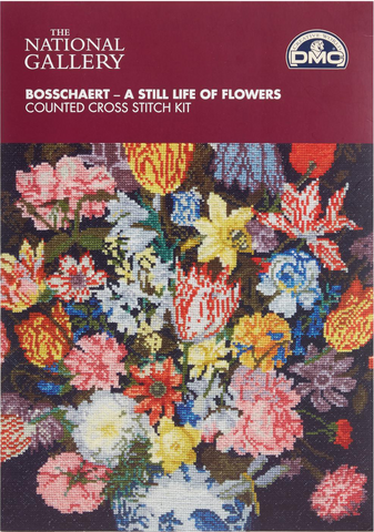 "The National Gallery Bosschaert ""A Still Life Of Flowers"" Cross Stitch Kit"