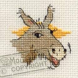 Braying Donkey - Stitchlets