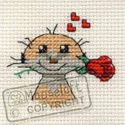 Special Occasion Meerkat - Stitchlets Greeting Card