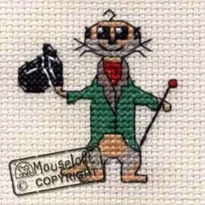 Mouseloft Aristo-kat - Stitchlets kit
