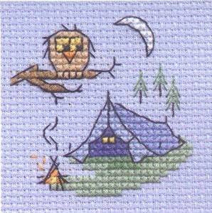 Camping - Stitchlets