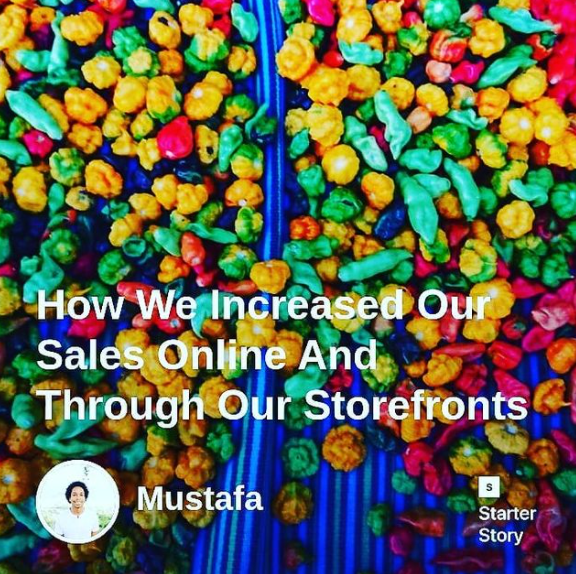 How We Increased Our Sales Online And Through Our Storefronts- Starter Story
