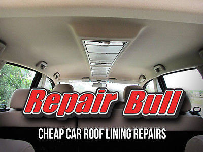 Cheap Car Roof Lining Repairs 5 Year Warranty Holden Ford Toyota Mitsubishi - Repair Bull