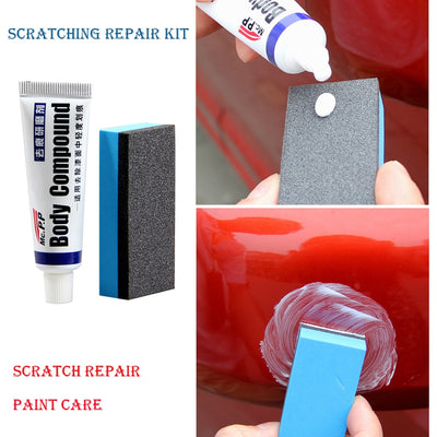 Car Body Compound Polishing Paste Set for Scratch and Paint Care - Repair Bull