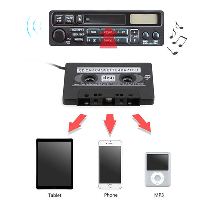 Car Cassette Tape AUX Cable Adapter - Repair Bull