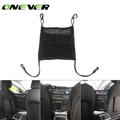 Car Seat Storage Mesh Bag Organizer - Repair Bull