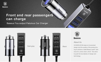 Baseus 5V USB Fast Car Charger - Repair Bull