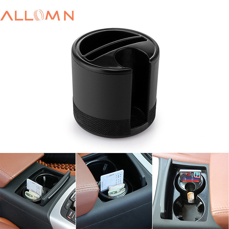 Car Storage Box Organizer Holder Cup with Coins Cards Slot for Keys Stowing Tidying Auto Accessories Mini - Repair Bull