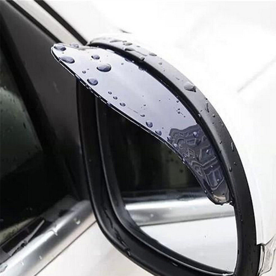 PCV Car Rearview Mirror Sticker Shield Rain Protector (Pair) - Repair Bull