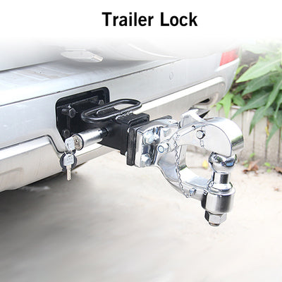 Locking Hitch Pin Trailer Coupler Lock Set Truck Trailer Receiver Lock - Repair Bull