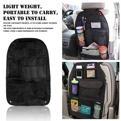Car Back Seat Multi-Pocketed Organizer Bag - Repair Bull