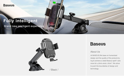 Baseus Qi Car Wireless Charger - Repair Bull