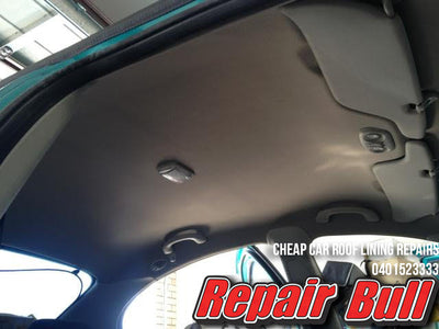 Holden, Toyota, Mitsubishi, & Ford Sedan Car Roof Lining Repair We Come To You - Repair Bull