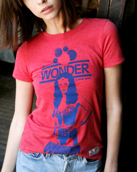 "Wonder Woman, ""Best Thing Since Sliced Bread,"" Ladies T-Shirt"