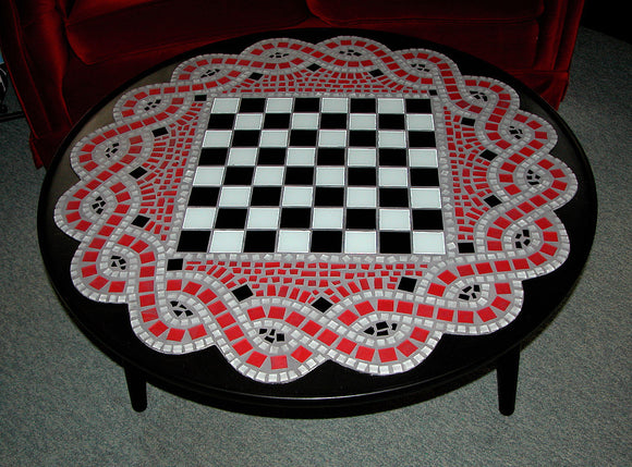 Celtic Knot Coffee Table (sold)