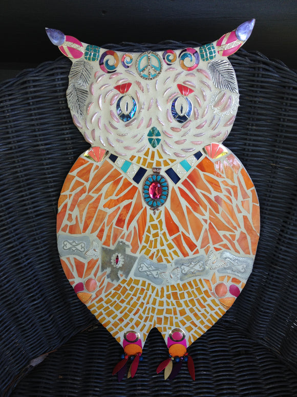 Owl Stuck in the 80's (sold)