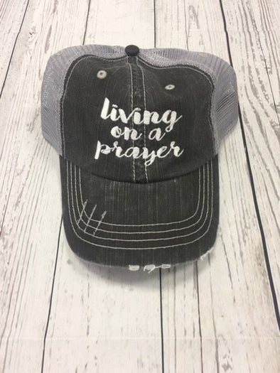 """Living on a prayer"""